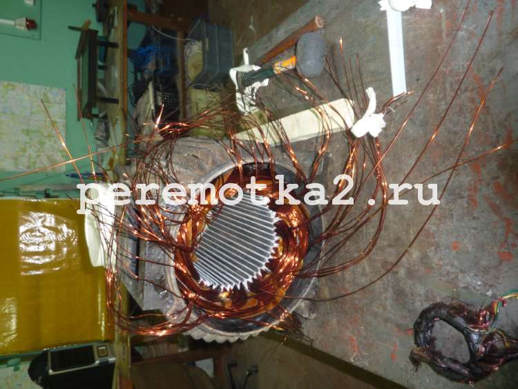 Срочный ремонт электродвигателей