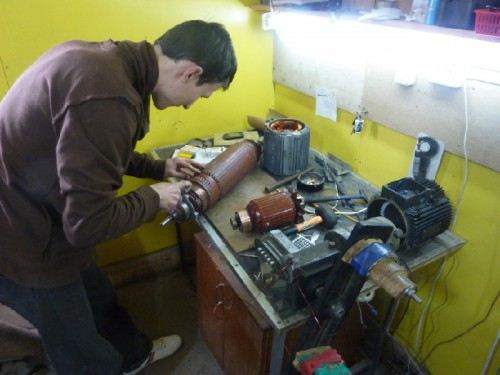 Своими руками перемотка и ремонт электродвигателей
