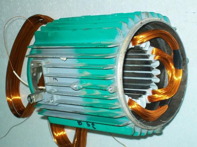 Перемотка асинхронного двигателя своими руками